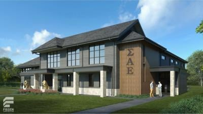 New Sigma Alpha Epsilon House
