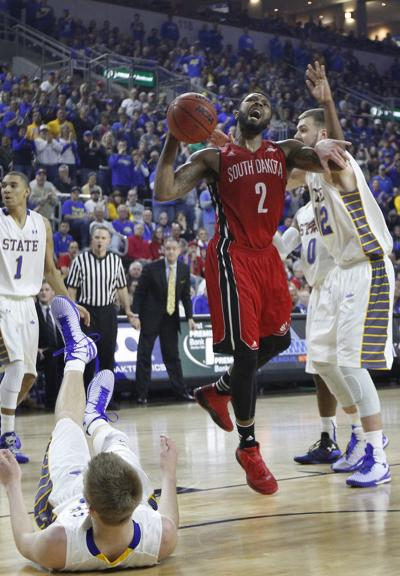 South Dakota State University vs University of South Dakota Men's Summit League Tournament