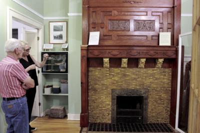Thompson House Fireplace