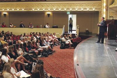 Rounds Addresses Girls State