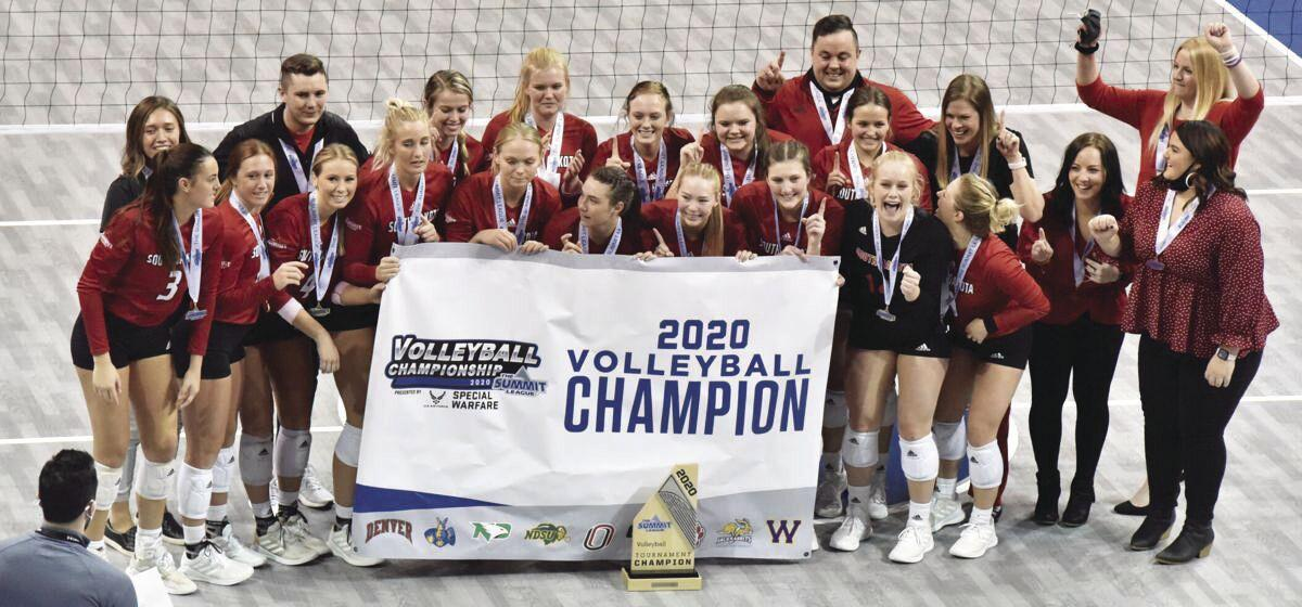 Summit League Volleyball Champions