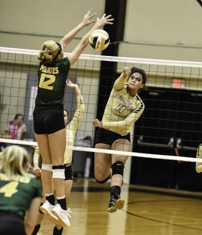 Sandies' volleyball