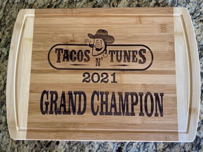 Tacos n' Tunes award