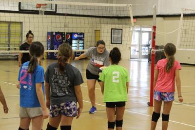 Sandies Head Coach Jenna Buzek