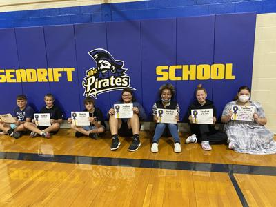Seadrift students of the month