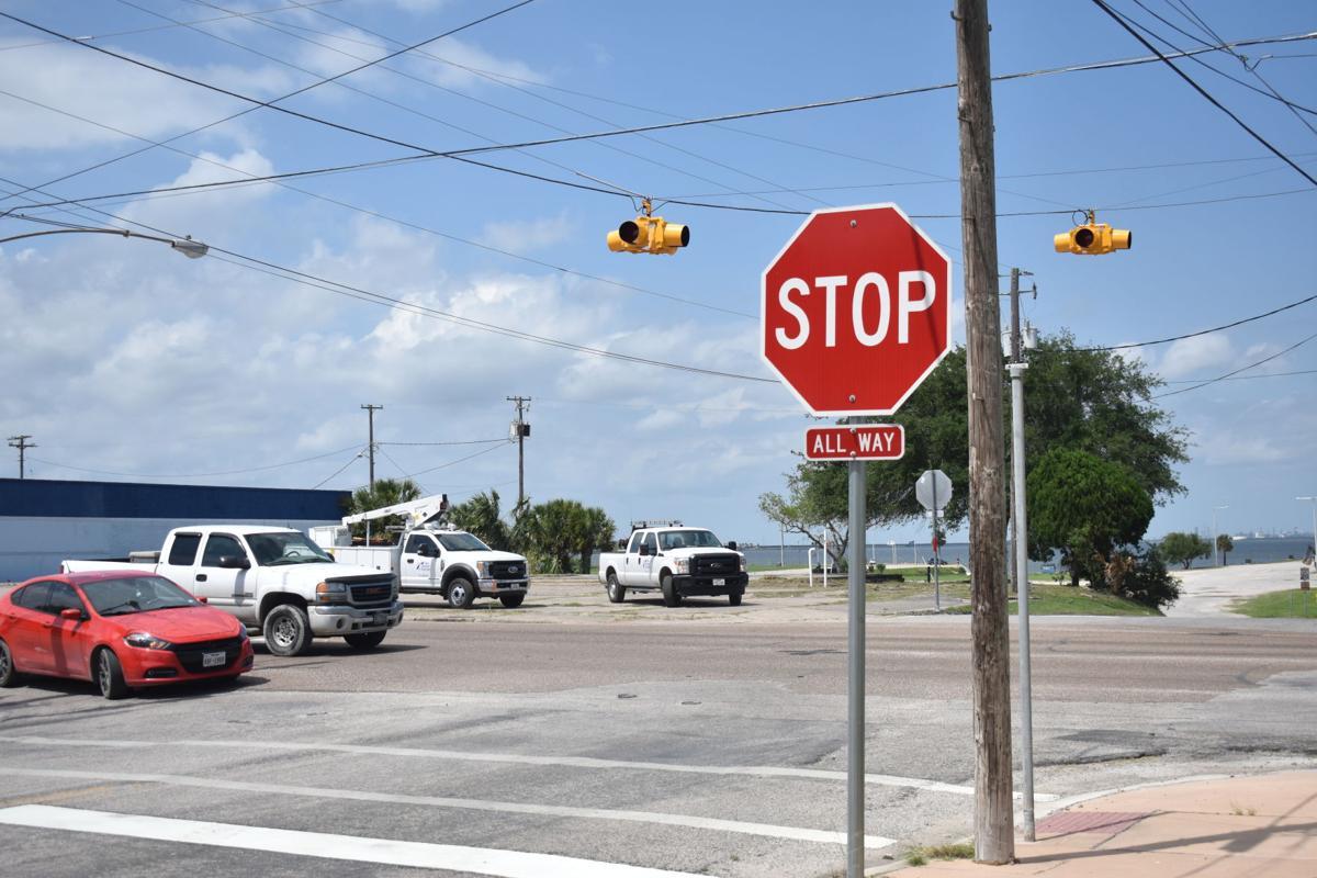 Texas Department of Transportation installs signs