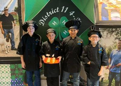 District 11 4-H Food Show and Food Challenge participants