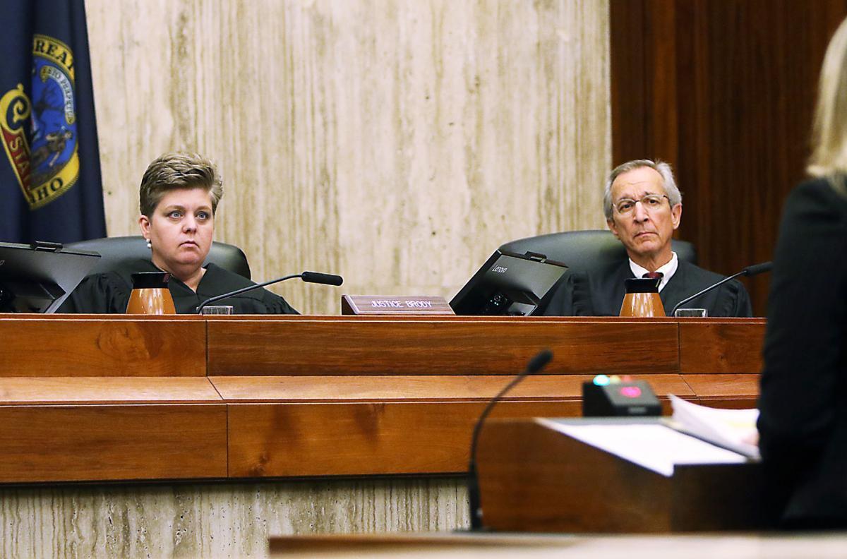 Idaho Supreme Court hears James Verity case