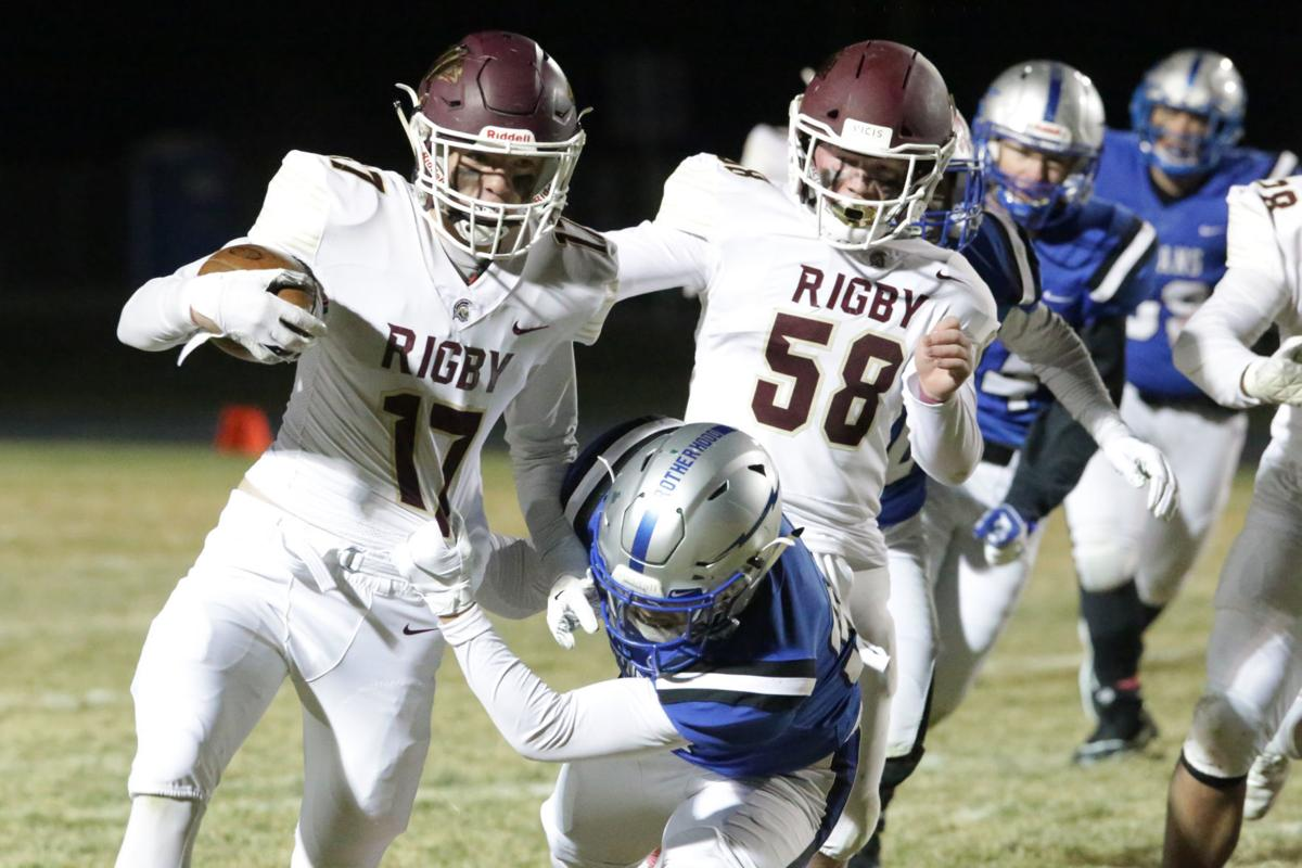 Rigby's Thompson passes the test against Thunder Ridge