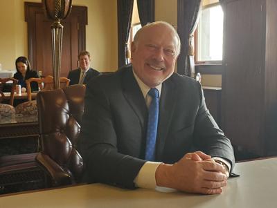 Frank Vandersloot 1-29-20 at state Capitol by Nathan Brown