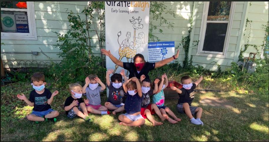 Giraffe Laugh child care center in Boise's North End