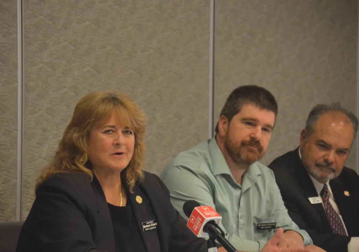 Ehardt press conference
