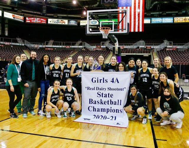 Lady Broncos capture State Title