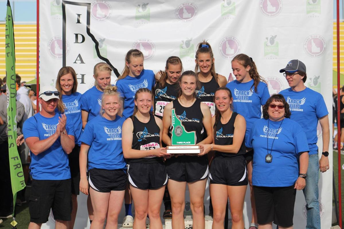 Lady Cougars place 3rd at state track and field