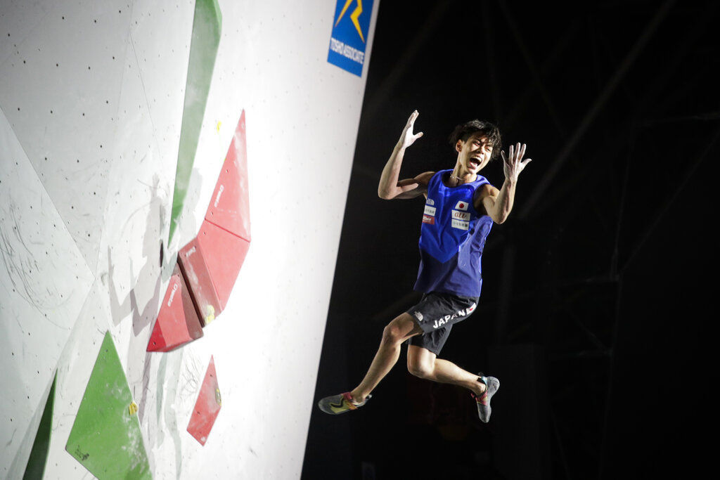 APTOPIX Japan Climbing Championships