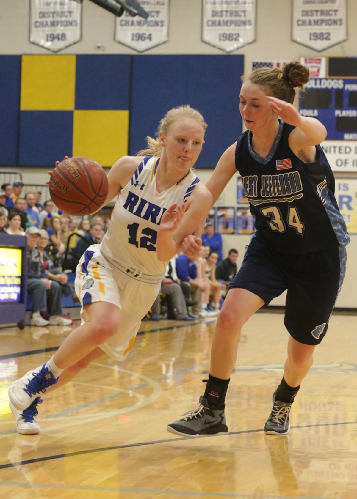 Ririe High vs West Jefferson girls basketball