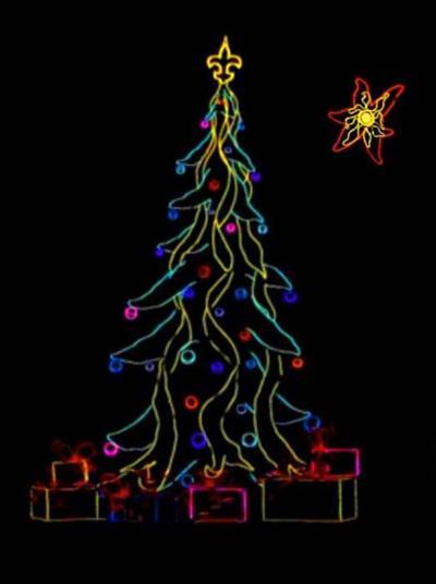 Lightwire tree