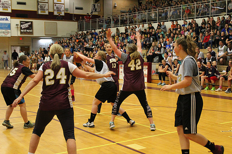 Rigby Middle School ends the year with a game and new principal