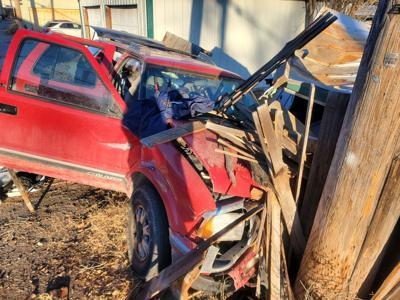 car crash following Walgreens robbery