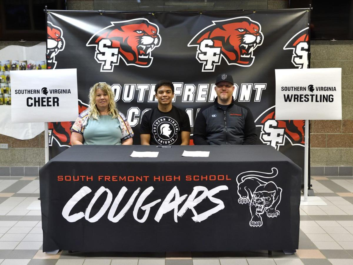 South Fremont's Tavarez signs with Southern Virginia for wrestling and cheerleading