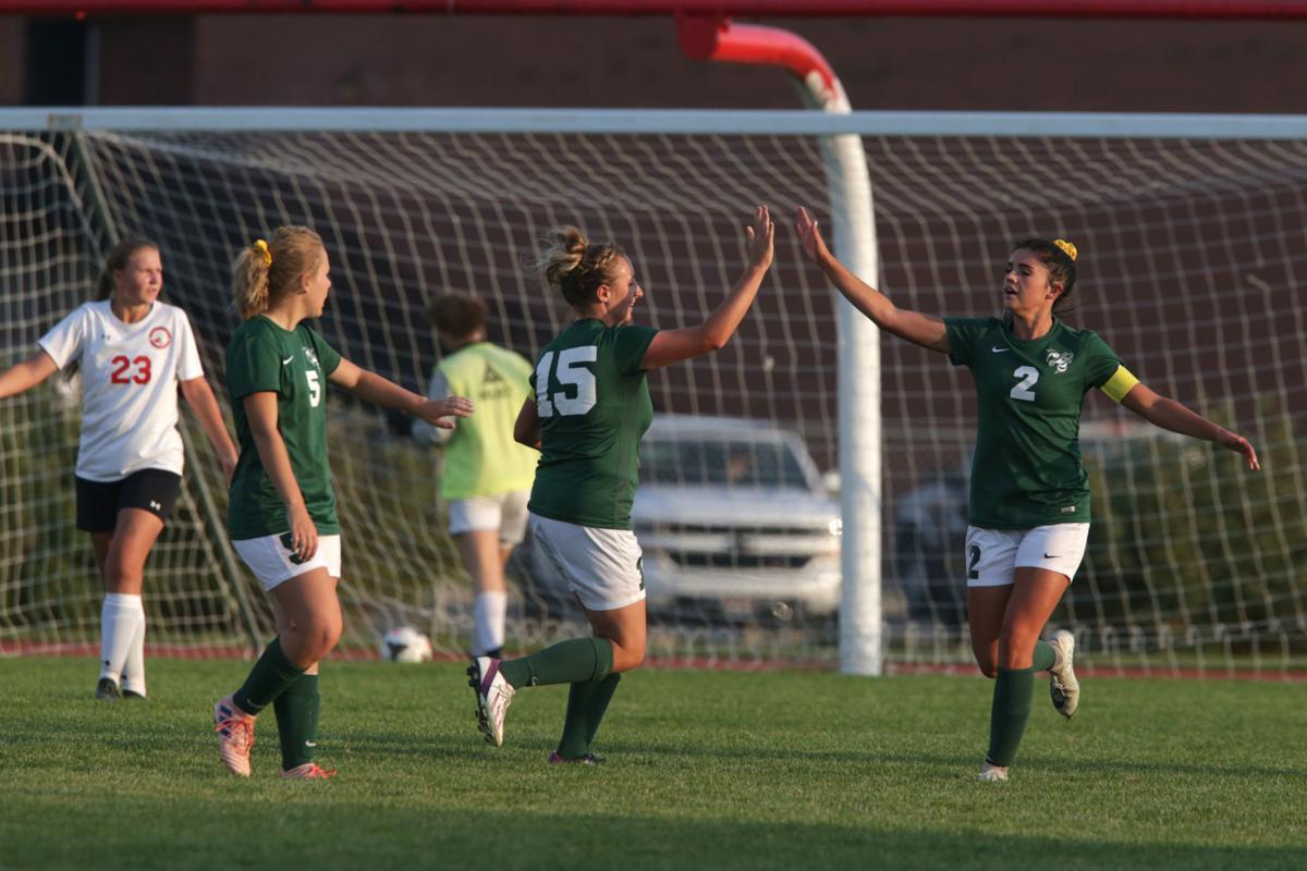 Girls soccer Bonneville Hillcrest