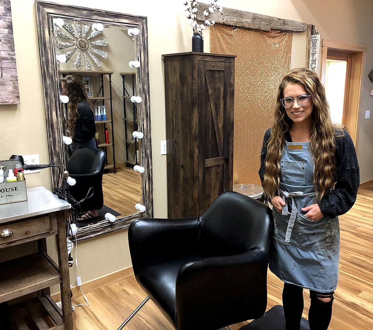 Local hair salons open up to wave of customers