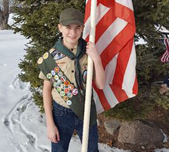 Wright earns Eagle Scout award