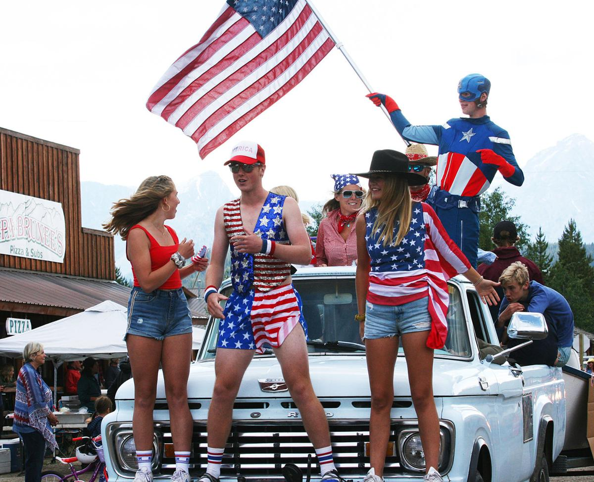 Stanley hosts wet 4th of July parade