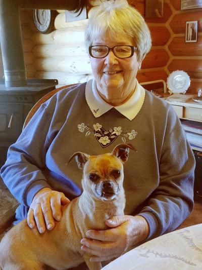 Hazel Crane with LuLu