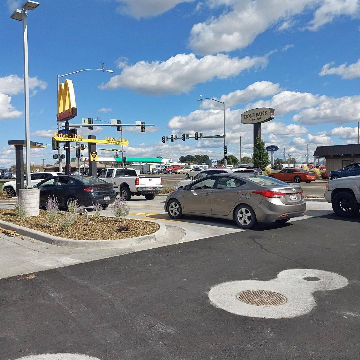 Blackfoot McDonald's greeted with lines