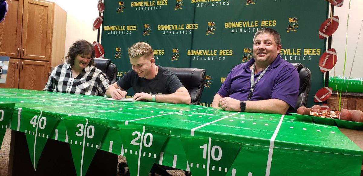 Bonneville's Beck signs to play football at College of Idaho
