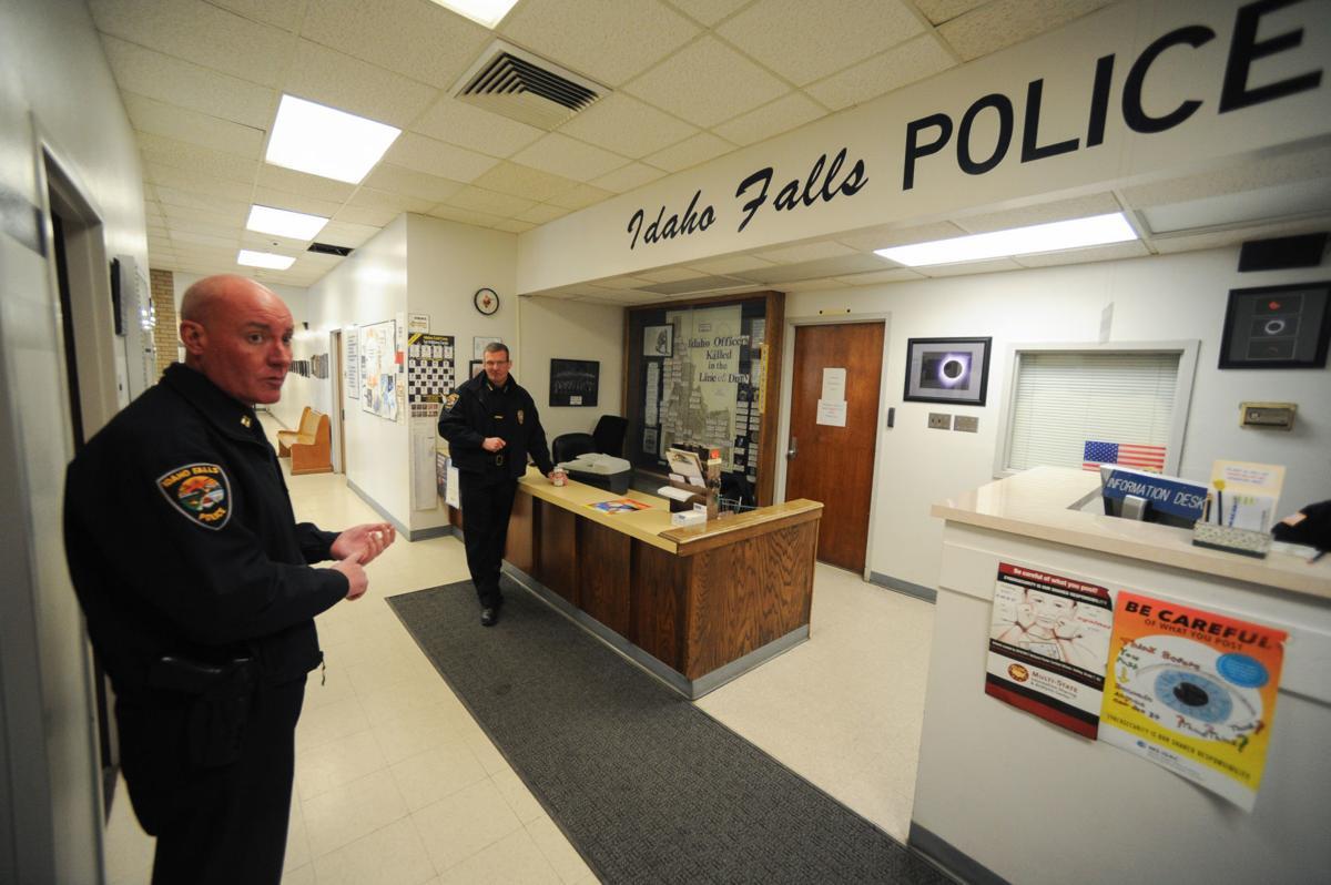 Idaho Falls Police Department tour