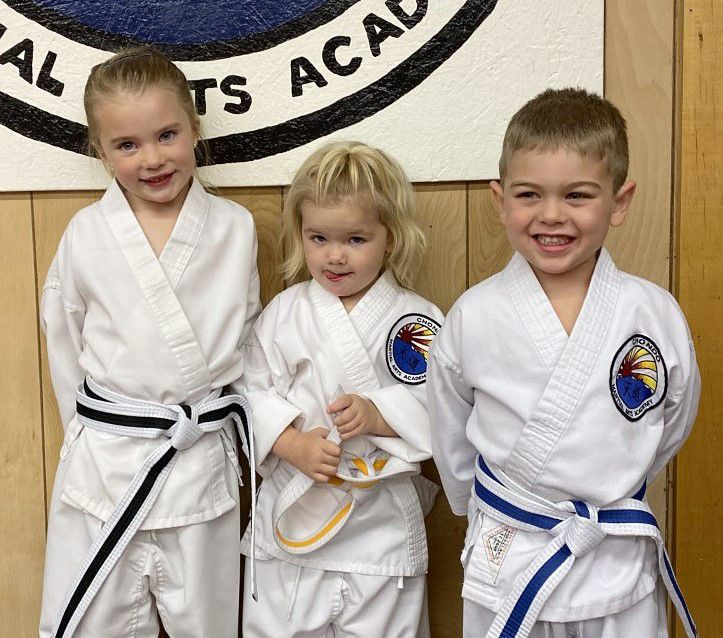 Tae kwon do athletes promoted after tests