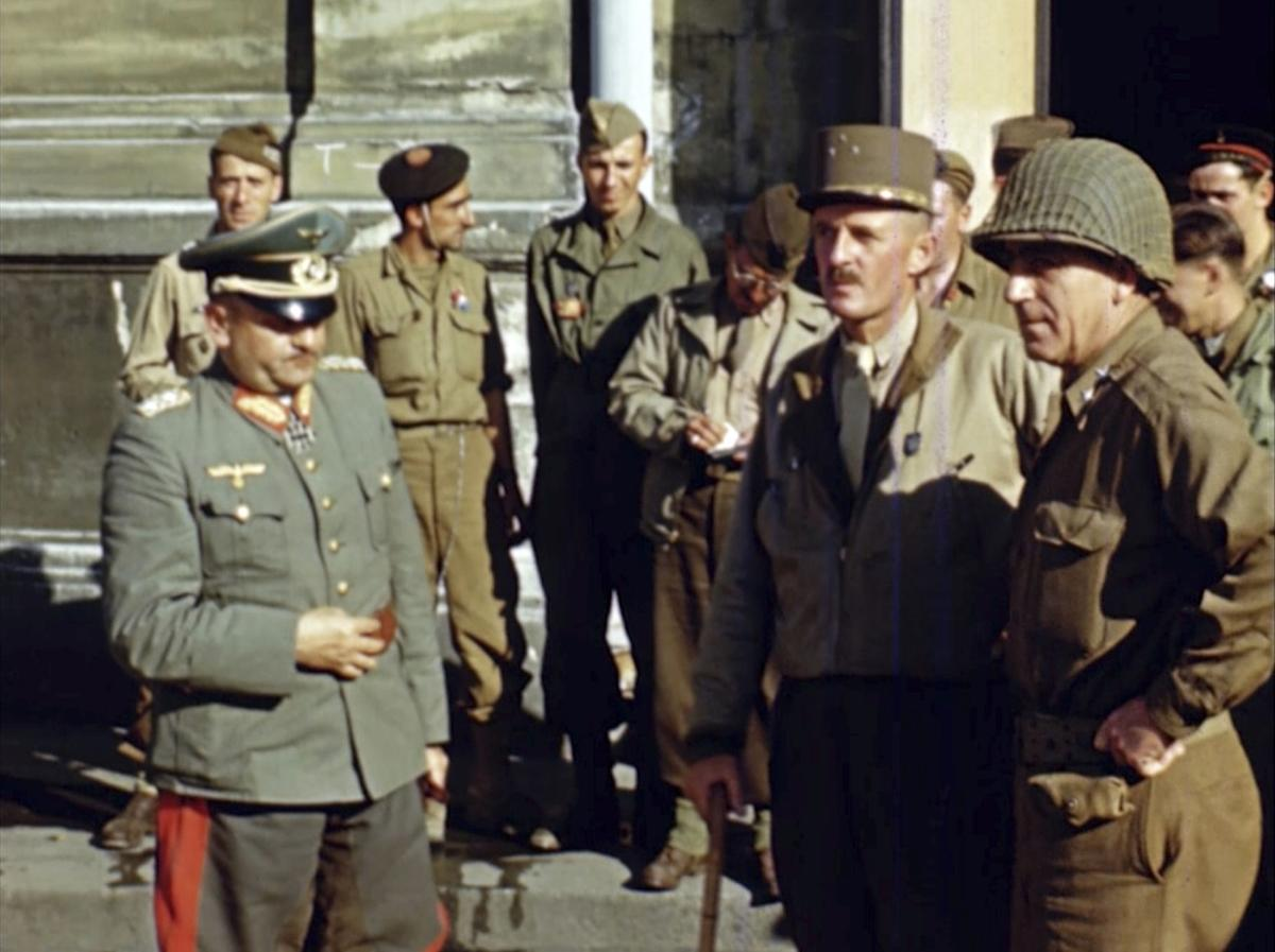 Color images from the D-Day invasion | News | postregister com