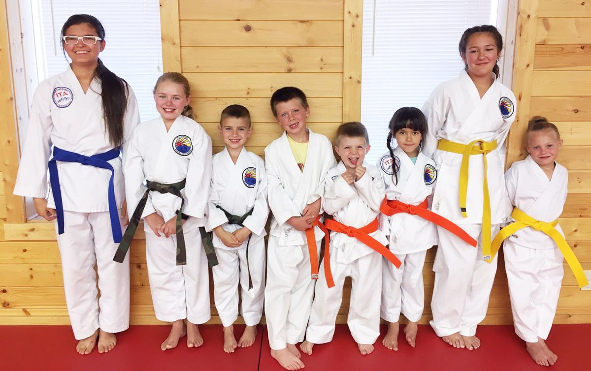 8 promoted at Challis martial arts academy