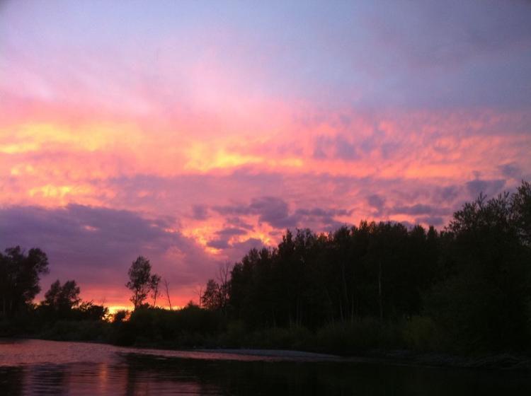 Death at the Teton River