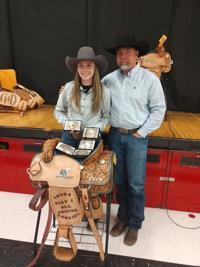Harley Beasley earns Reserve All-Around Cowgirl