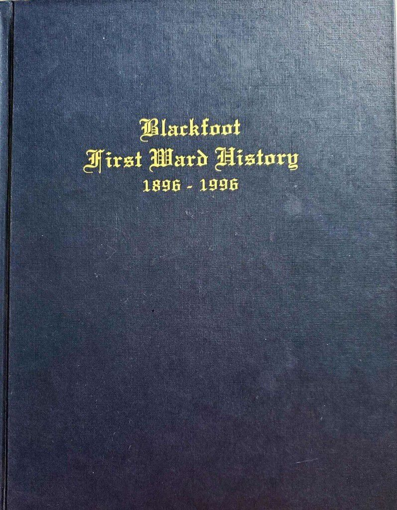 First Ward history book cover