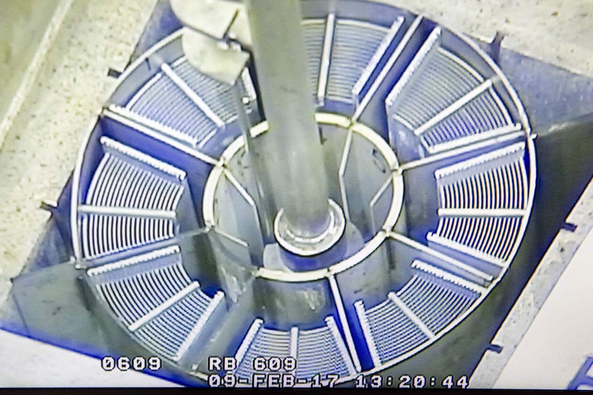 Old spent nuclear fuel buckets - Fluor Idaho