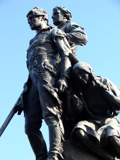 Sacajawea statue