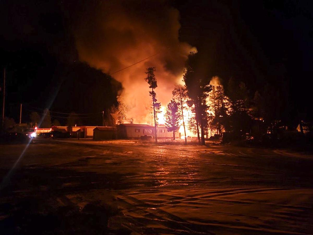 West Yellowstone Blaze, Contributed
