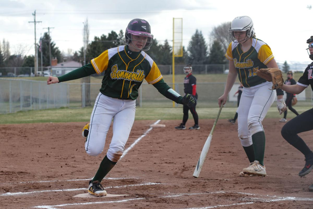 Bonneville softball completes sweep of Hillcrest with 16-1 win