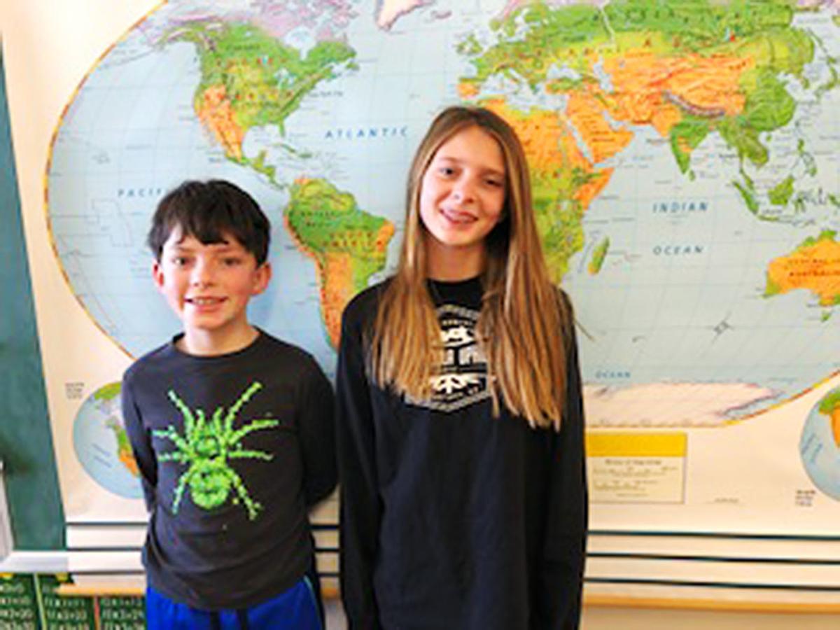 Geography Bee winners