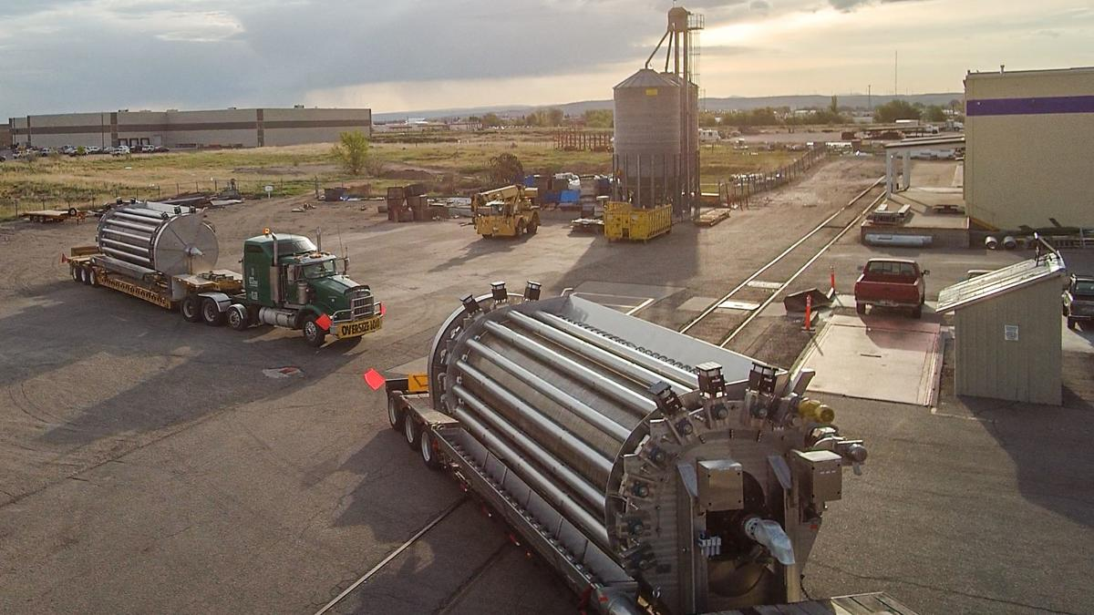 Idaho Steel builds record-sized potato drying drum | Local
