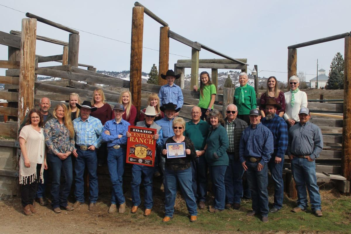 Sherman Glenn Ranch gets Century Ranch distinction