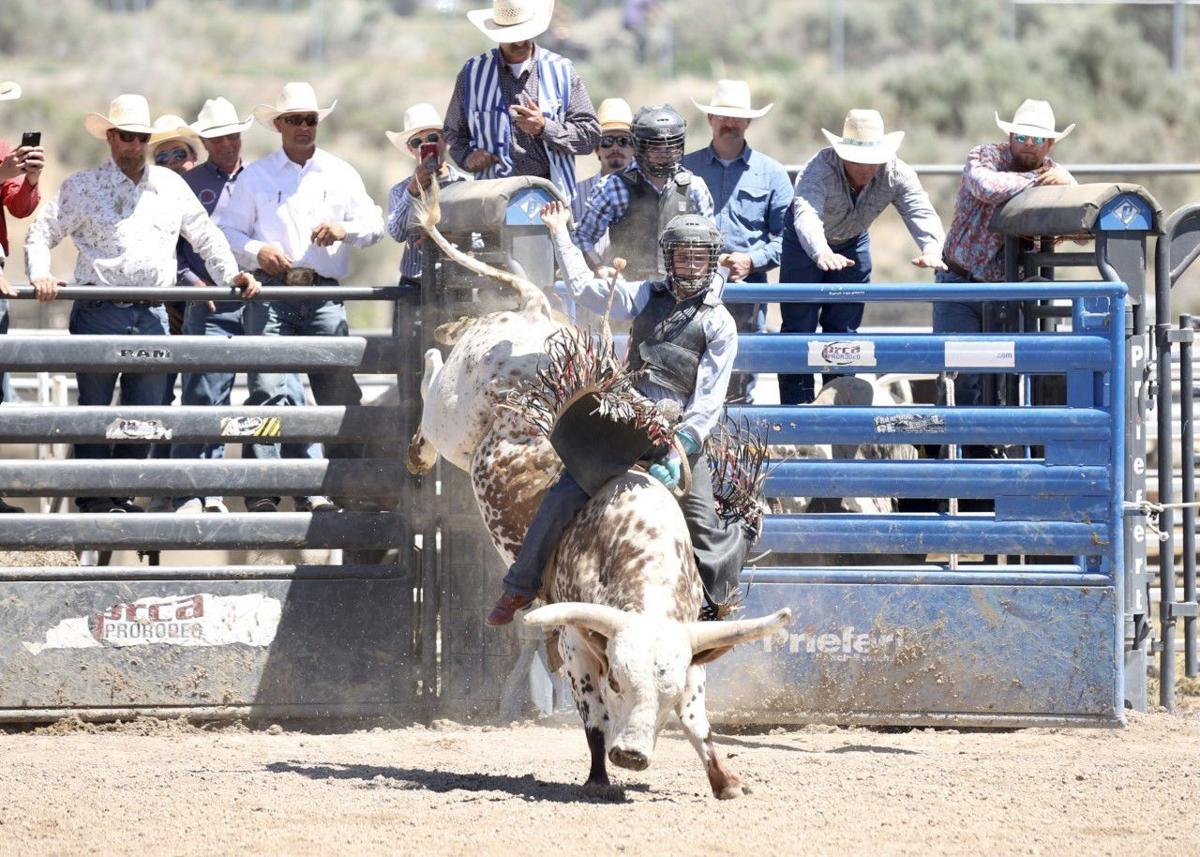 HIGH SCHOOL RODEO: Tough competition highlight's Wednesday's NHSFR action