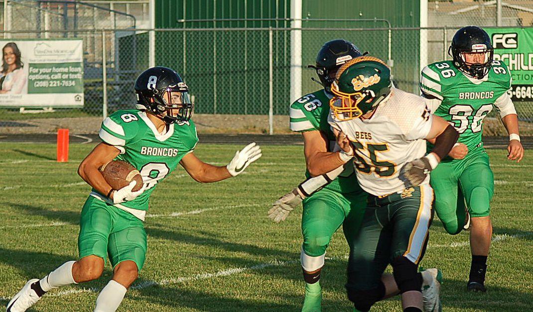 Broncos edge Bonneville, 21-14