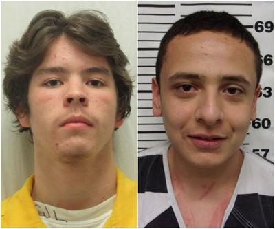 Dustin Alfaro and Isaac Romero mugs