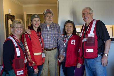 Red Cross team