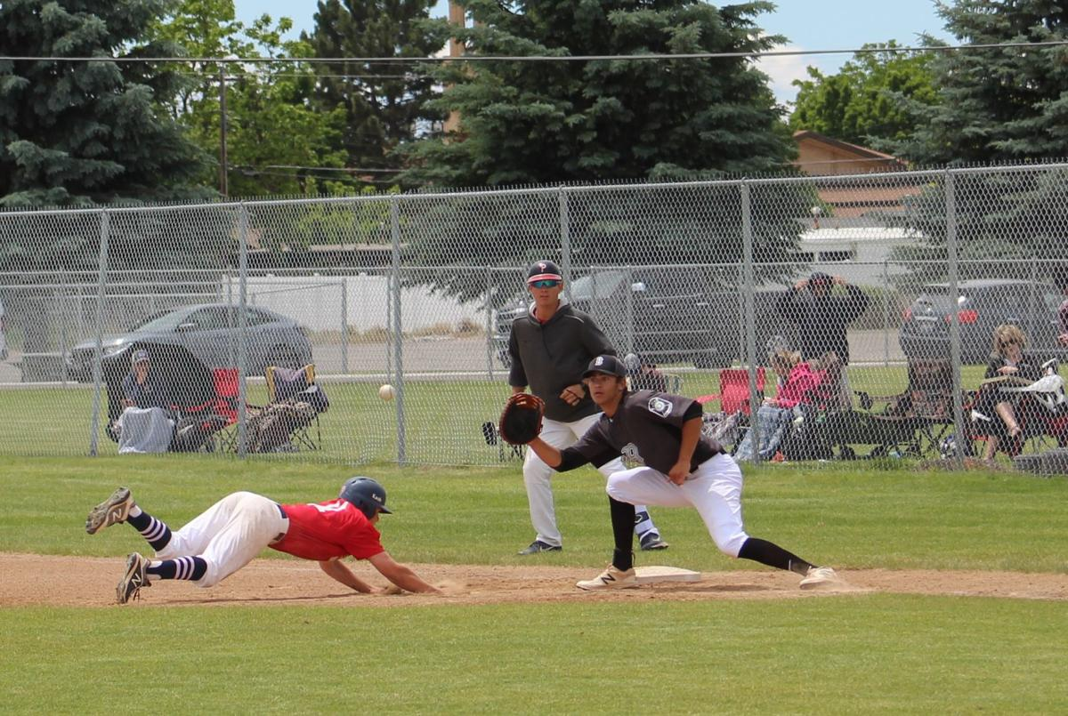 Broncos AA Legion team splits with Poky